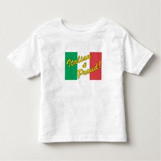 Italiaanse & Trotse Peuter T Shirt