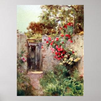 Italiaanse Tuin Print