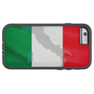 Italiaanse vlag en Italië Tough Xtreme iPhone 6 Hoesje