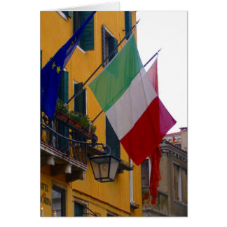 Italiaanse vlag kaart