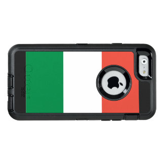 Italiaanse vlag OtterBox defender iPhone hoesje