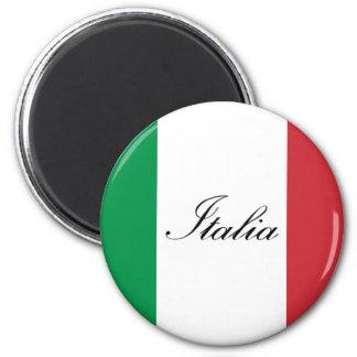 Italiaanse Vlag - Vlag van Italië - Italië Magneet