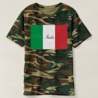 Italiaanse Vlag - Vlag van Italië - Italië T Shirts