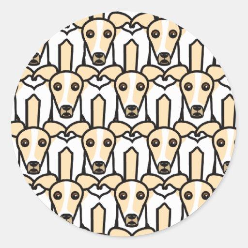Italiaanse Windhonden Sticker