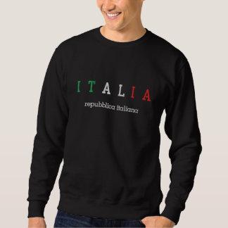 ITALIË (Italië), italiana Repubblica Geborduurde Sweater