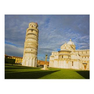 Italië, Pisa, Duomo en Leunende Toren, Pisa, 2 Briefkaart