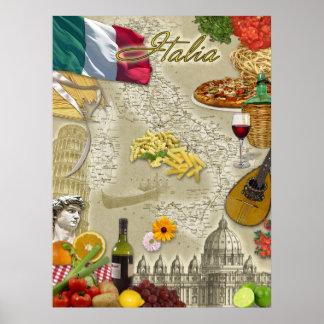 Italië Poster
