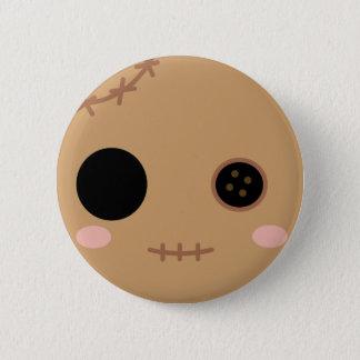 Itami het Hoofd van Doll van het Voodoo Ronde Button 5,7 Cm