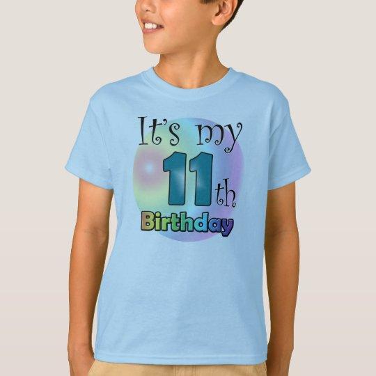 It's my 11th Birthday (boy) T Shirt