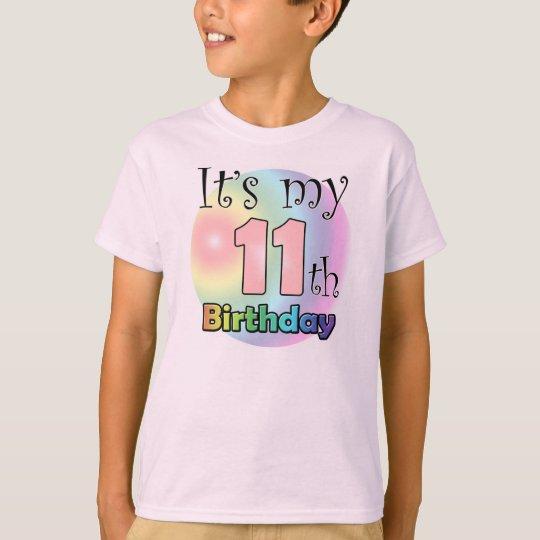 It's my 11th Birthday (girl) T Shirt