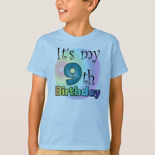 It's my 9th Birthday T Shirt