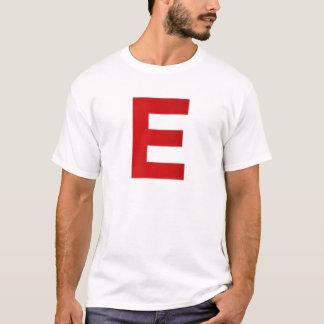 Itz Ethan Witte en Rode t-Shit T Shirt