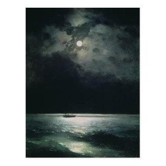 Ivan Aivazovsky- de Zwarte Zee bij nacht Briefkaart