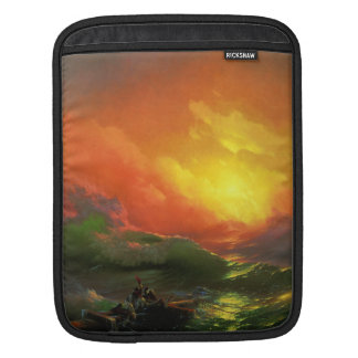 IVAN AIVAZOVSKY - Negende golf 1850 iPad Sleeve
