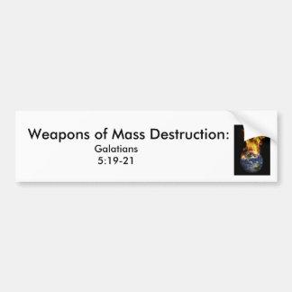 j0437381, Wapens van de Vernietiging van de Massa: Bumpersticker