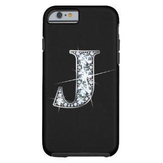 """J Faux- """"Diamant Bling """" Tough iPhone 6 Hoesje"""