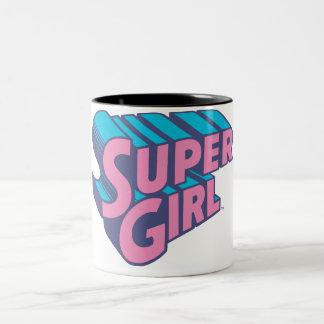 J-Pop 10 van Supergirl Tweekleurige Koffiemok