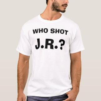 J.R.? , HET SCHOT VAN DE WGO T SHIRT