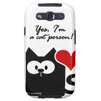 Ja ben ik een mobiel de telefoongeval van de katte galaxy SIII hoesjes