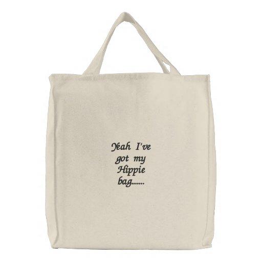 Ja heb ik mijn zak ....... geborduurde tassen