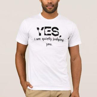 ja. ik beoordeel u stil t shirt