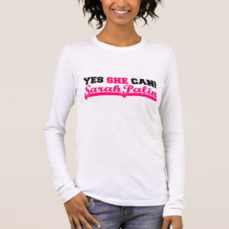 Ja kan zij - Sportief Lang Sleeve T Shirts