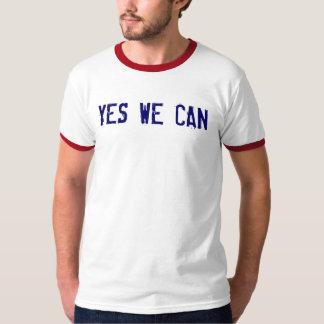 JA KUNNEN WIJ met Lyrische gedichten op rug T Shirt
