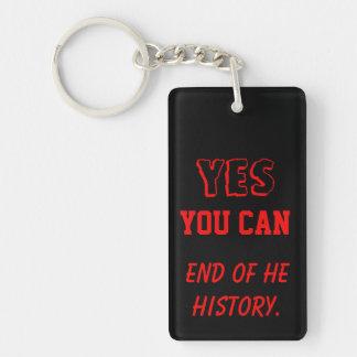 Ja kunt u van de geschiedenis belangrijkste keten sleutelhanger