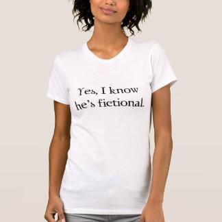 Ja, weet ik hij fictief is t shirt