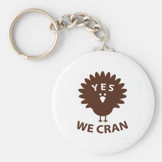 Ja wij Cran Sleutelhanger