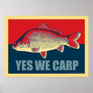 Ja wij het poster van de Karper