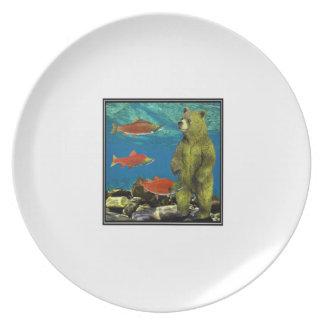 Jaagster op Stroom Melamine+bord