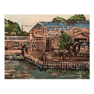 """Jachthaven in Portside, het Briefkaart van Kelley"