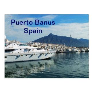 Jachthaven, Puerto Banus, Spanje Briefkaart