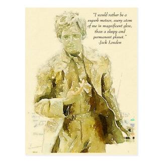 Jack London Briefkaart