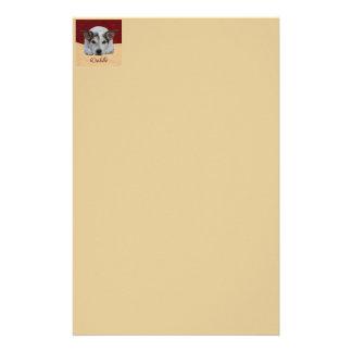 Jack Russel iCuddle Briefpapier