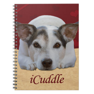 Jack Russel iCuddle Ringband Notitieboek