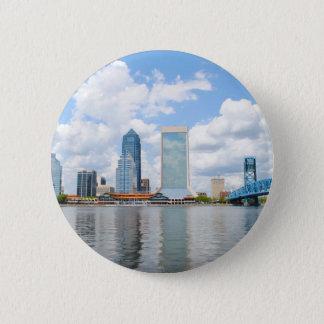 Jacksonville, Florida Ronde Button 5,7 Cm