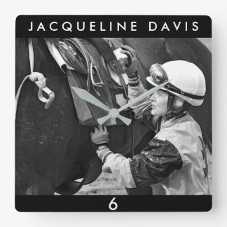 Jacqueline Davis Vierkante Klok