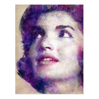 Jacqueline Kennedy Onassis Briefkaart