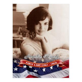 Jacqueline Kennedy, Presidentsvrouw van de V.S. Briefkaart