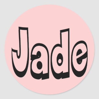 Jade Ronde Stickers