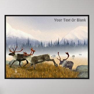 Jagers in de Mist Poster
