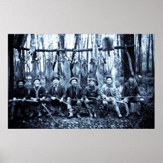 Jagers van de Herten van de Club 1911 van de jacht Poster