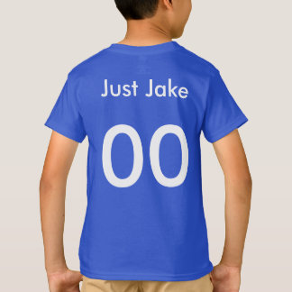 Jake enkel Honkbal Jersey T Shirt
