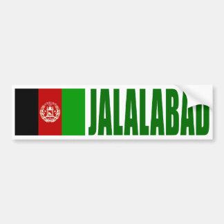 Jalalabad, de Vlag van Afghanistan Bumpersticker
