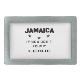 Jamaïca als u niet van het houdt, gaat weg gespen