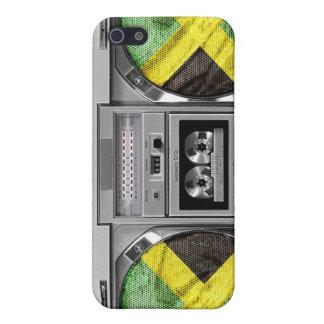 Jamaïca boombox iPhone 5 case