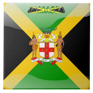 Jamaicaanse vlag tegeltje