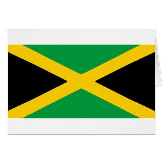 Jamaicaanse Vlag Wenskaart